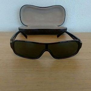 Versus Gianni Versace Sunglasses for Men in Brown